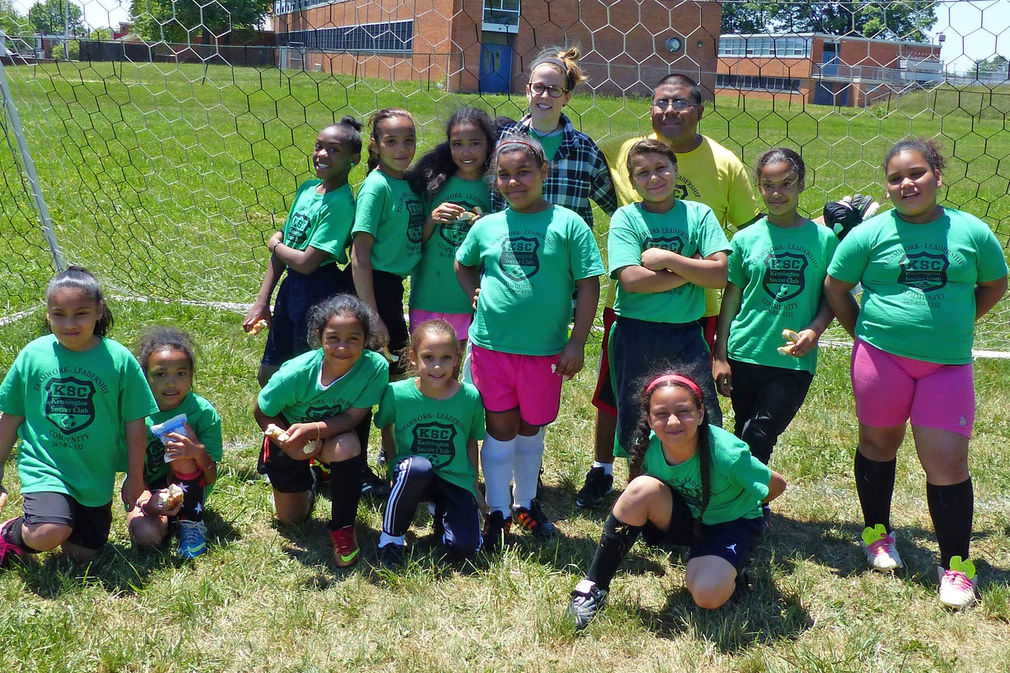 Our u10 girls traveled to play Chester United.