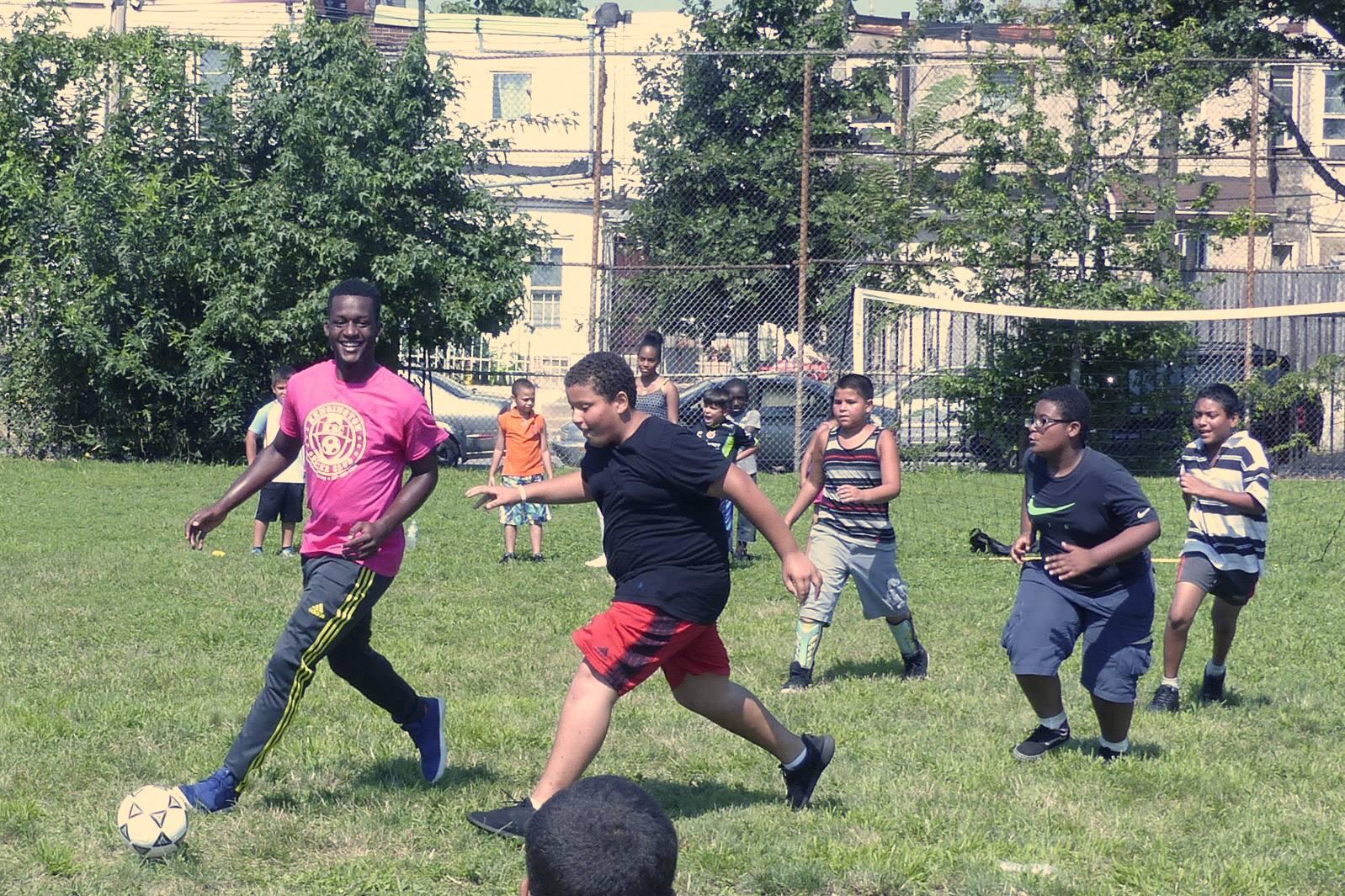 Hissey Playground Soccer Camp 2017