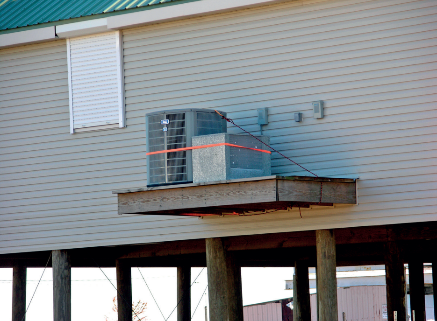Raising infrastructure can help protect it from nuisance flooding and storm surges. (Photo Credit: FEMA)