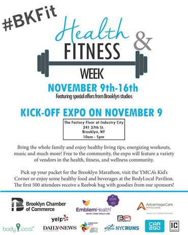 Find Tucketts™ @ Brooklyn Fitness and Health Expo