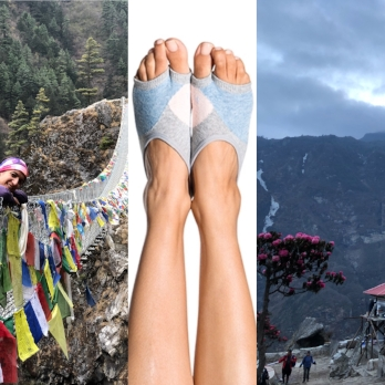 Day 1 and 2: - Phakding to Namche Bazaar