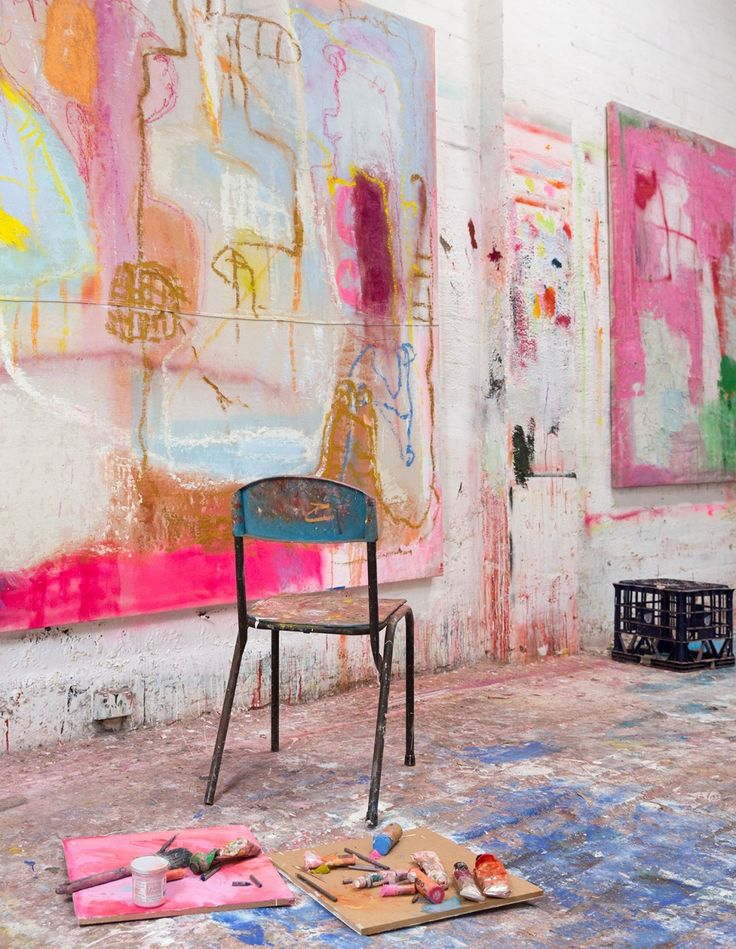 Olivier Rasir's studio via  Design Files .