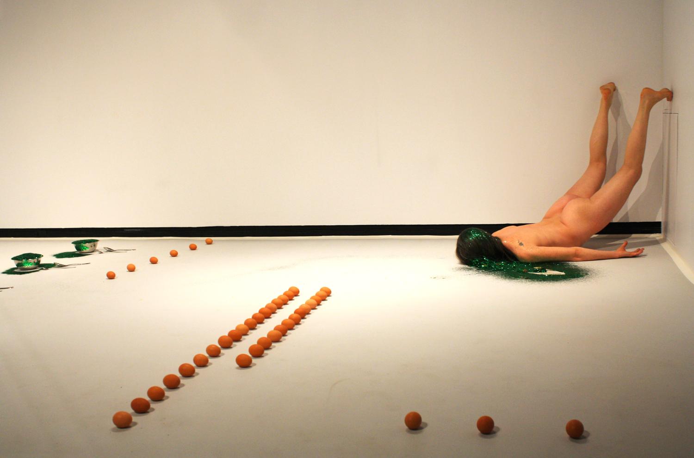 Untitled (Slick Glittery) — Kira O'Reilly
