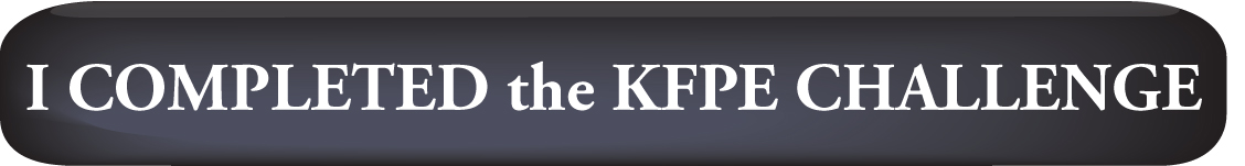 I Completed the KFPE Challenge