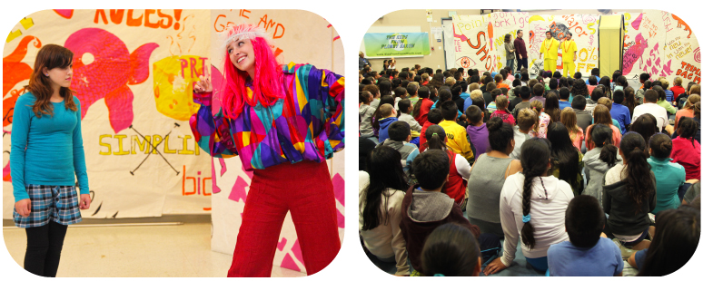 The Kids do meet some helpful characters along the way - and audiences are loving the show!
