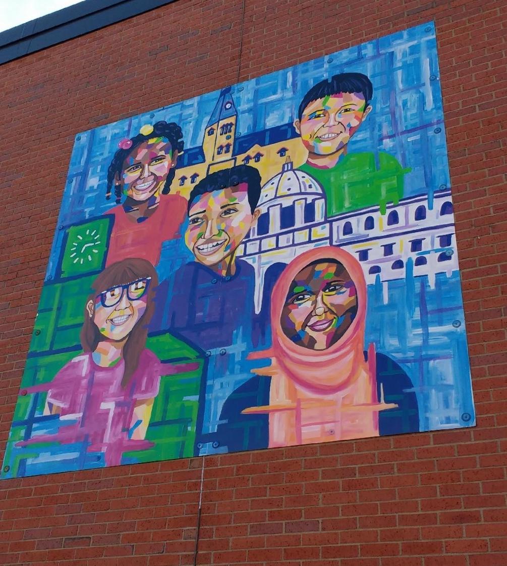 Hamline Elementary School Mural