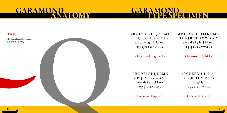 Garamond — Angel Cabrera - Graphic Designer