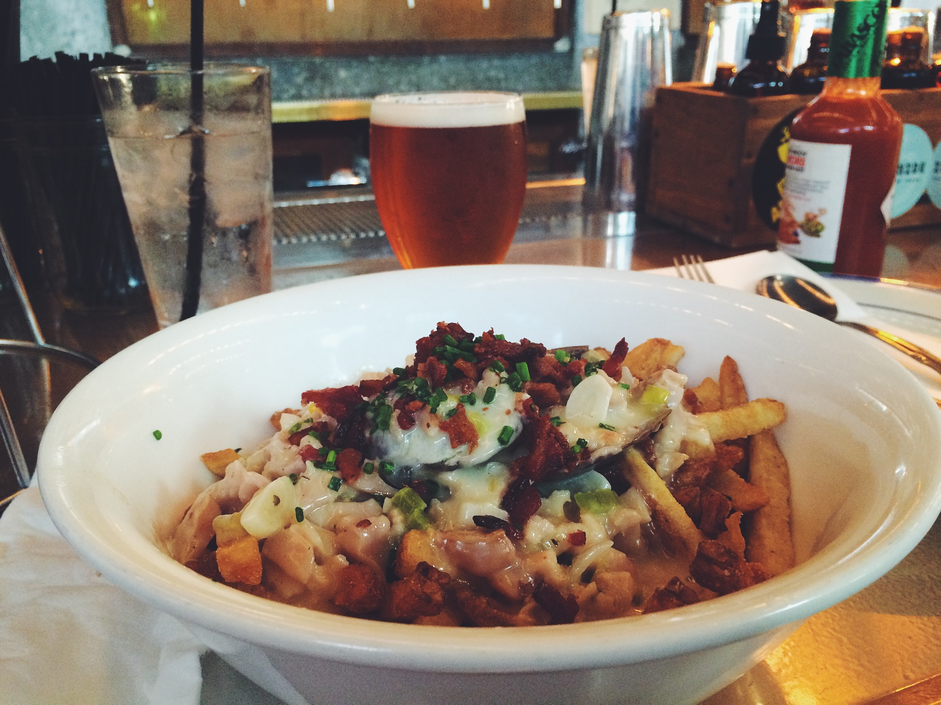 The Chowder Fries.