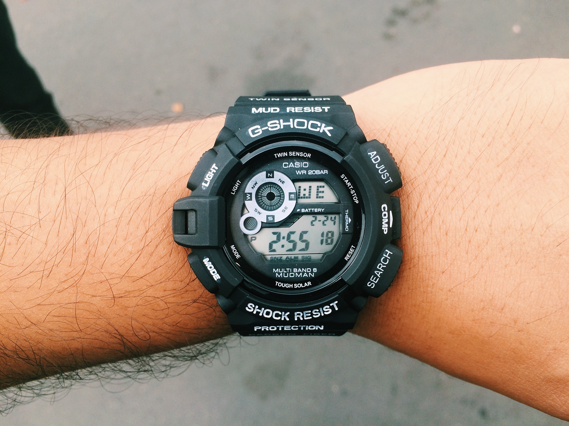 I came up on this G-Shock at Kobey's swapmeet, $18 bucks. Saw a couple of friends there making that paper.