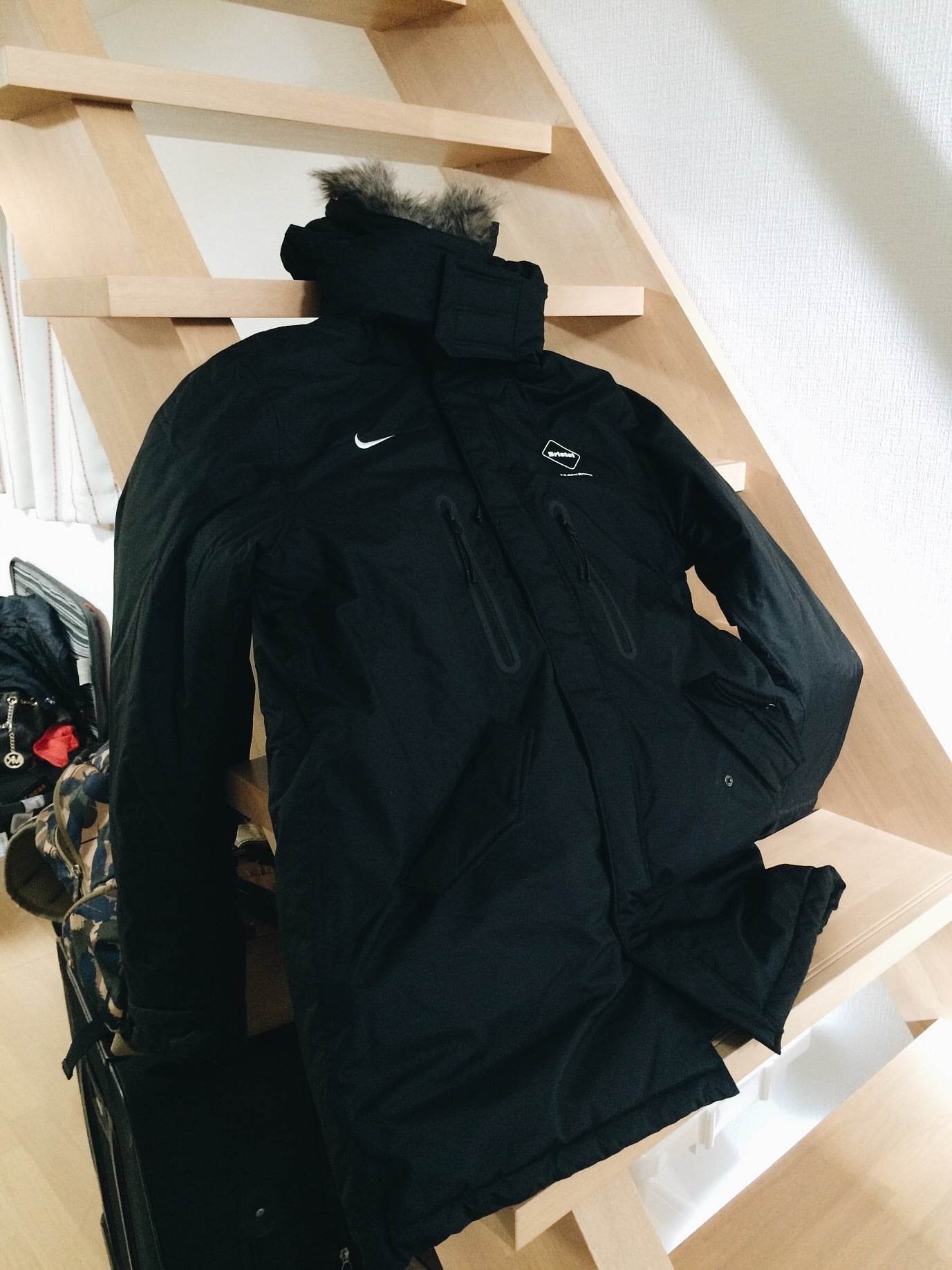 I was having second thoughts about buying it because of the price but I do need it for the snow tomorrow. This jacket a medium, I wear XL but some how this fit me. It's really warm!