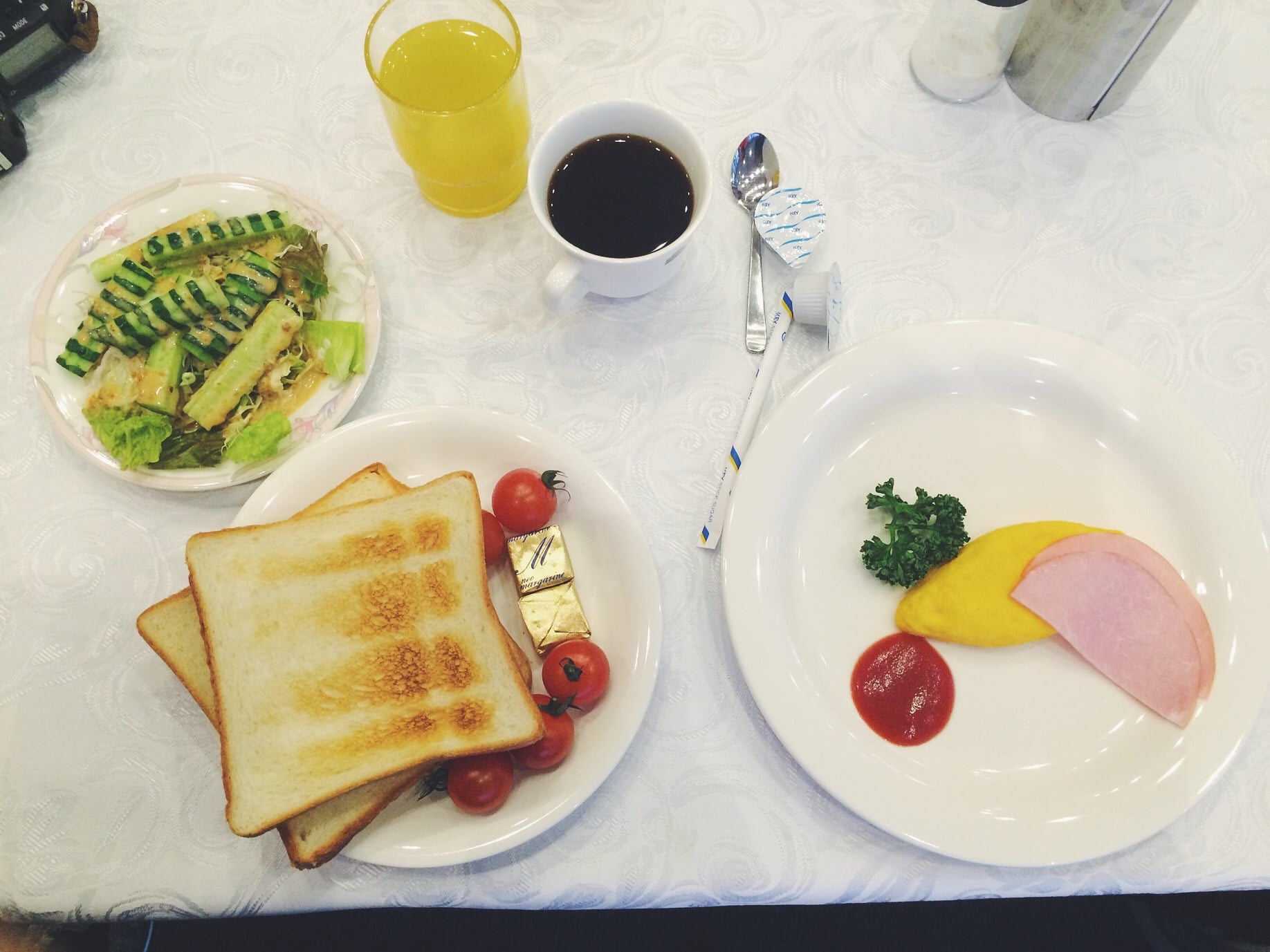 Not everything we eat is super fancy haha. Was it good? Lets just say we appreciate free food.