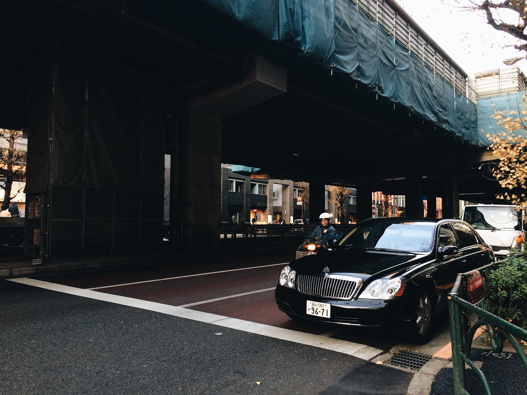Roppongi had a lot of exotic cars.
