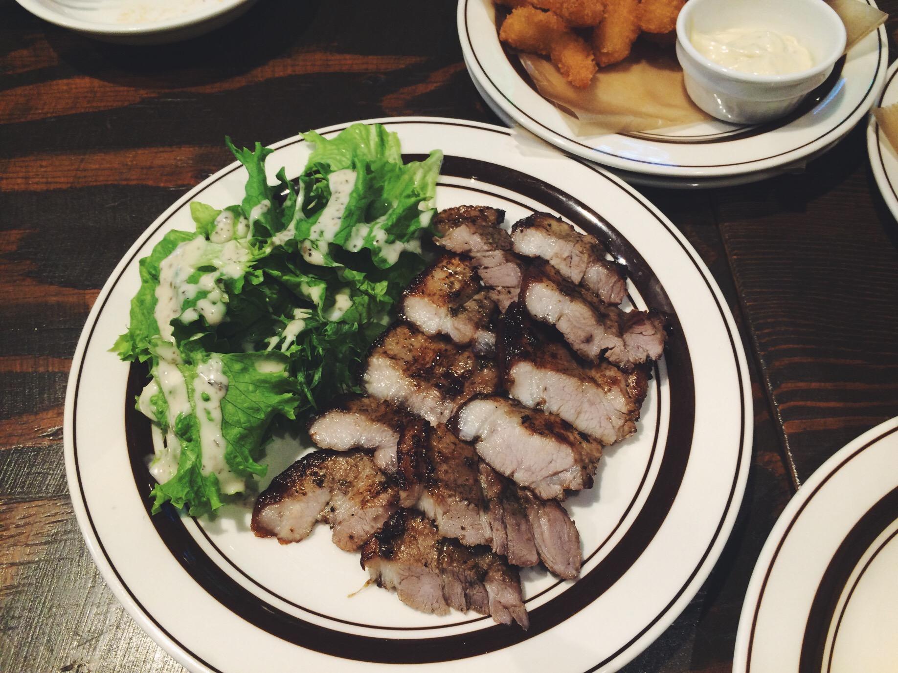 I think this was the pork belly, soooo tasty!