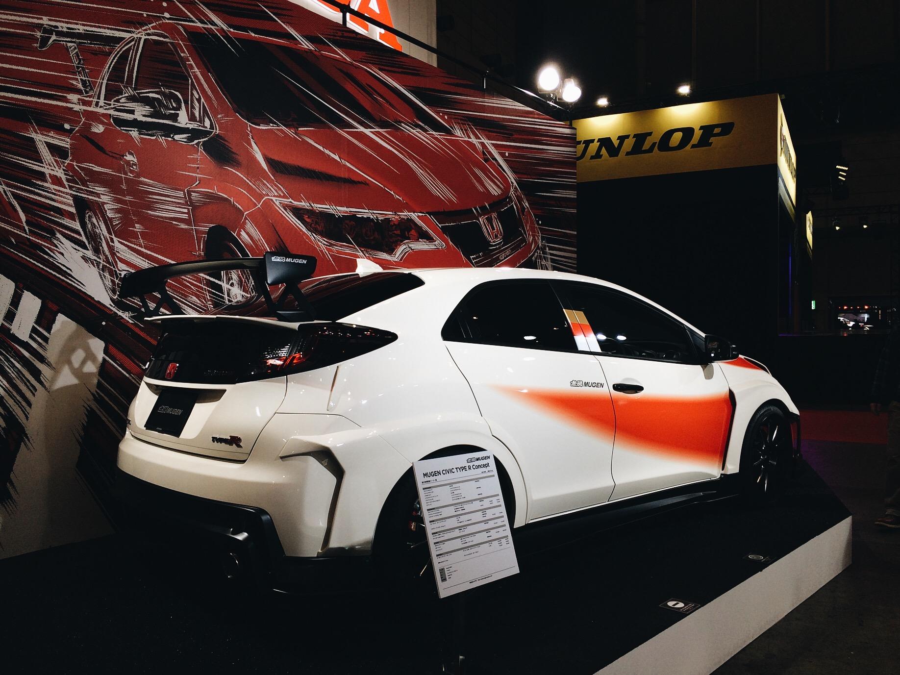 The new Mugen Civic Type-R, so rad!