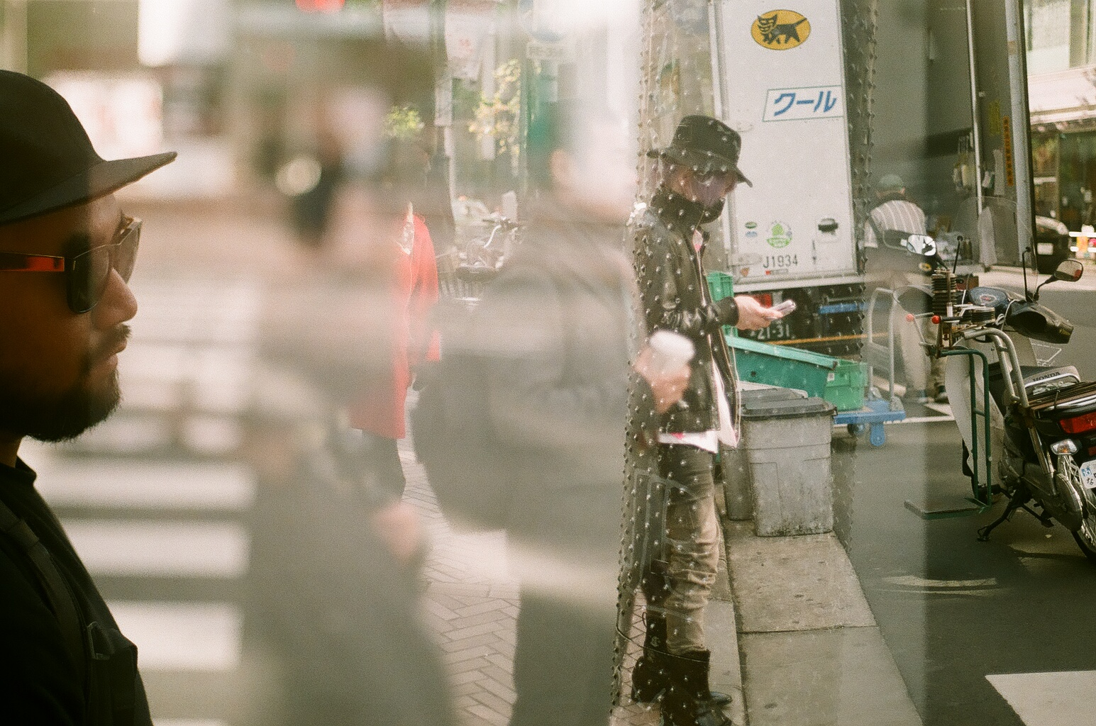I love this shot, this is an accidental double exposure on my Canon ae-1.