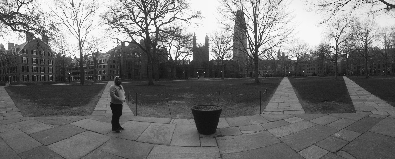 Took a tour around Yale.
