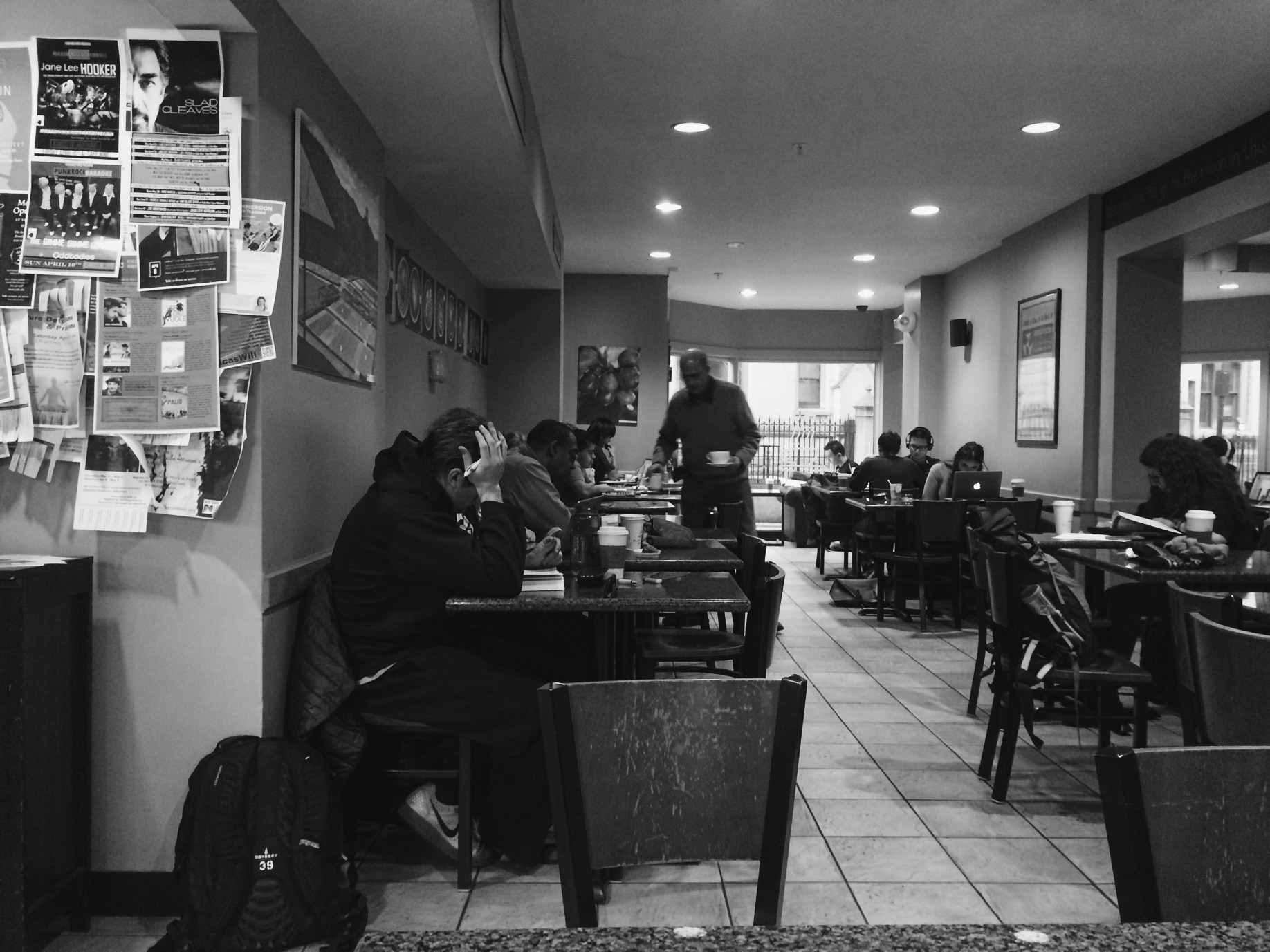 For some reason I had a lot of fun watching these Yale students studying at the coffee shop.