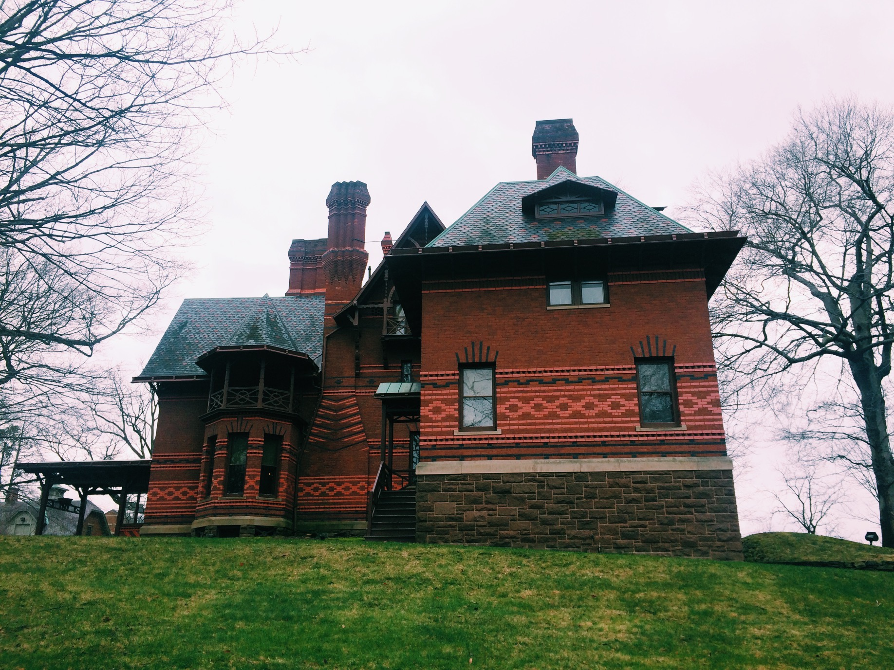 We also got to check out Mark Twain's house.
