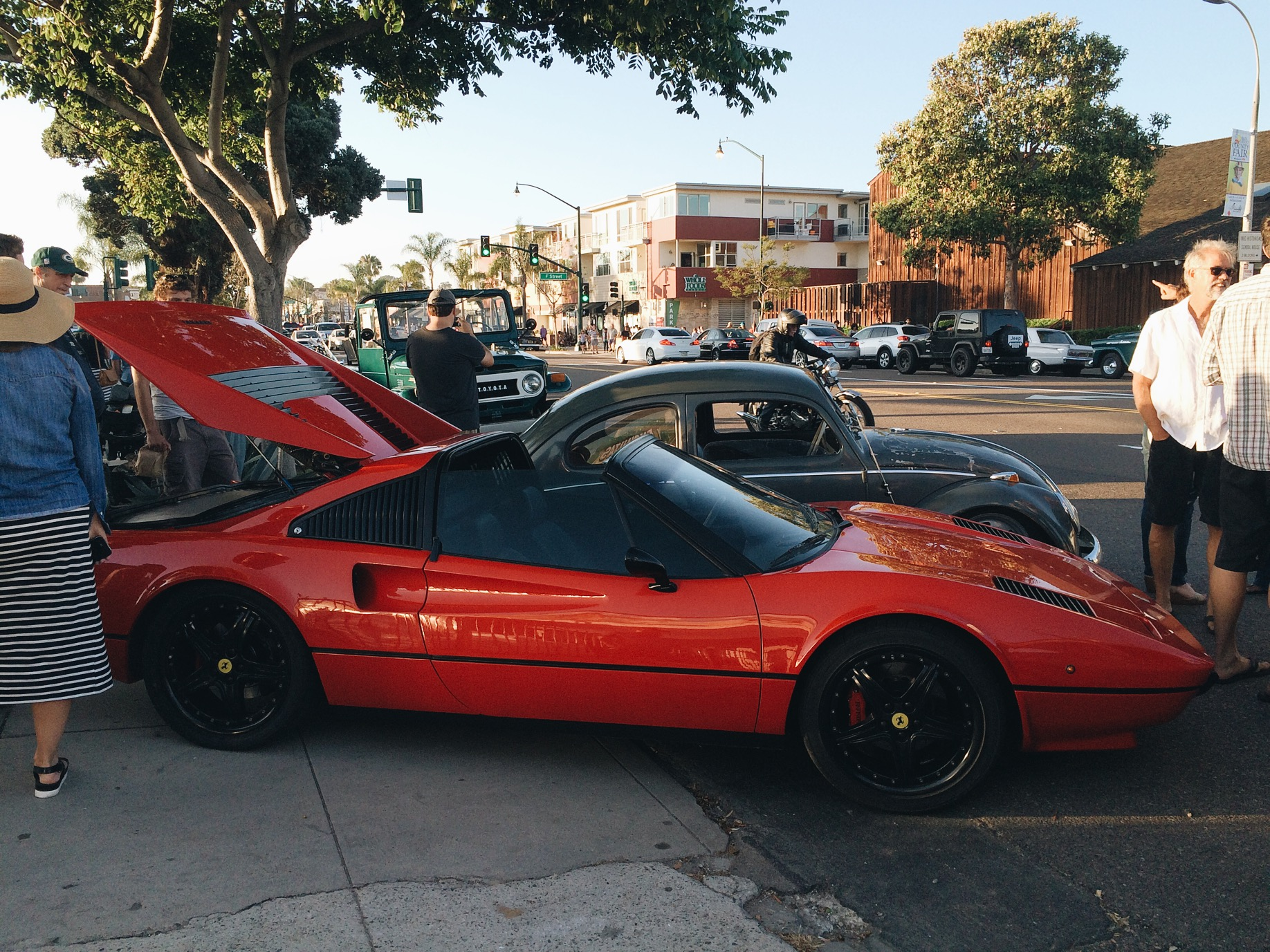 All electric Ferrari .