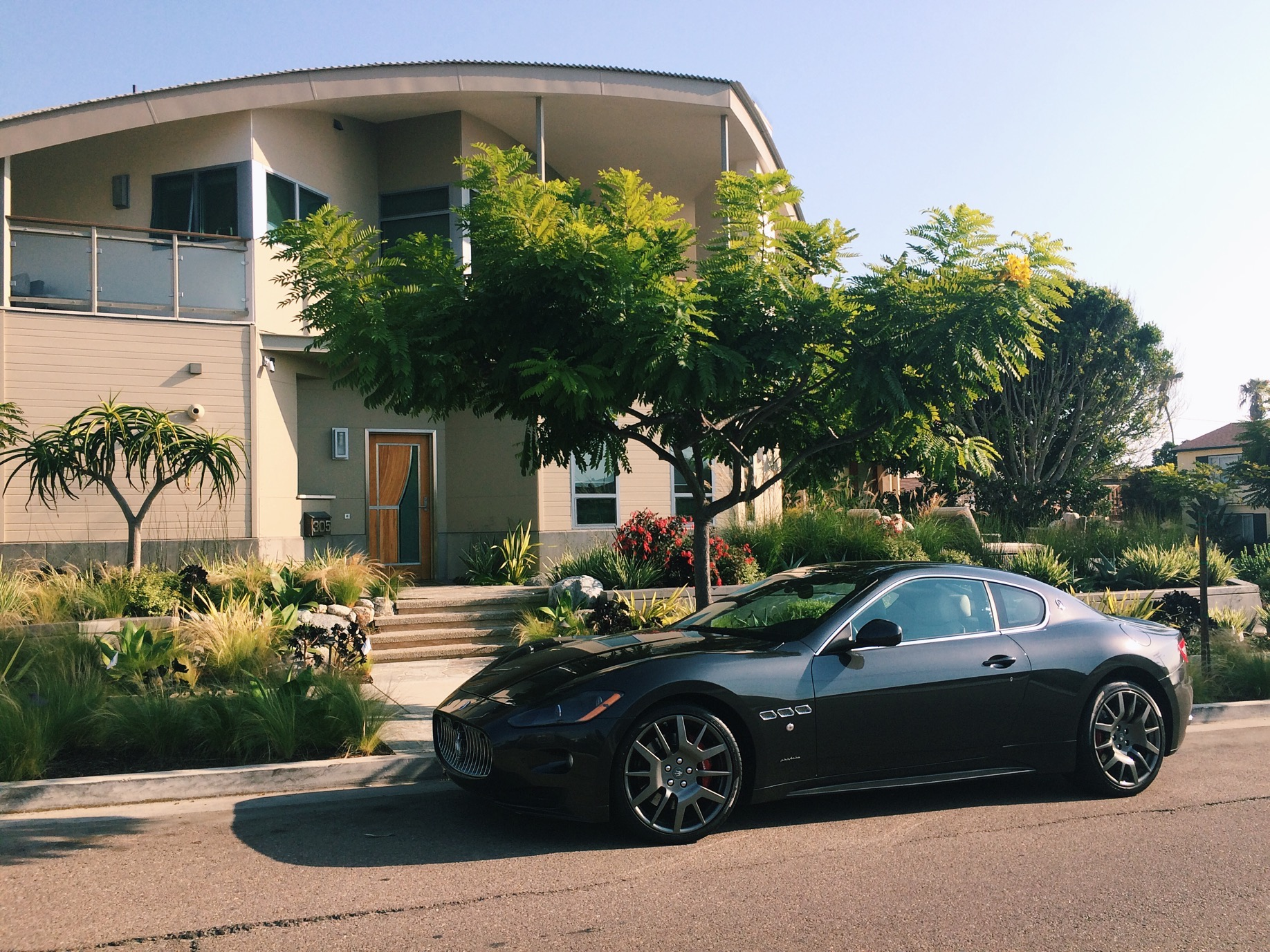 This fucker stopped me too, the combination of the Maserati and the house did it for me.