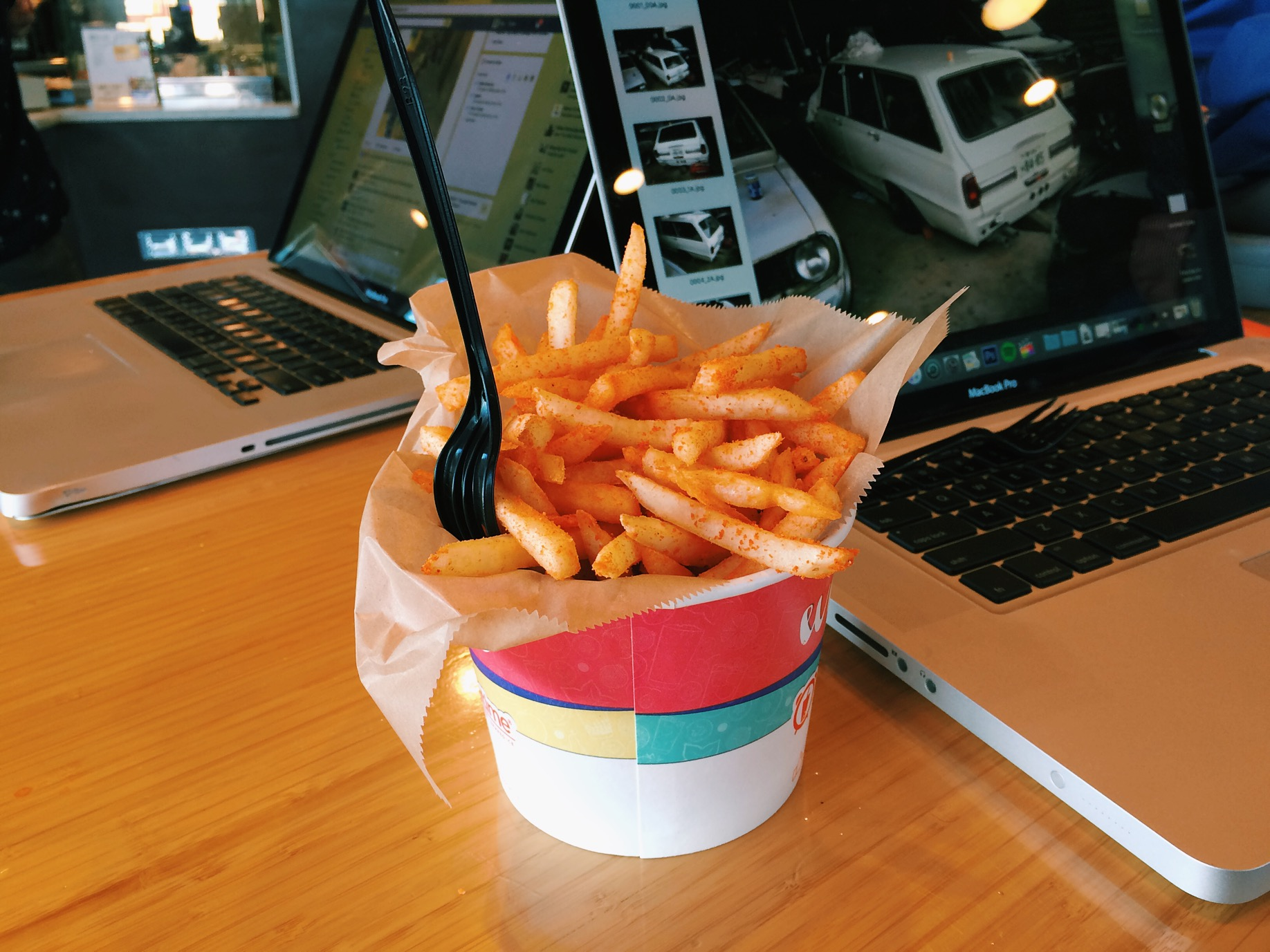 Wild Buffalo Fries, taste pretty good. Munchies food for sure.