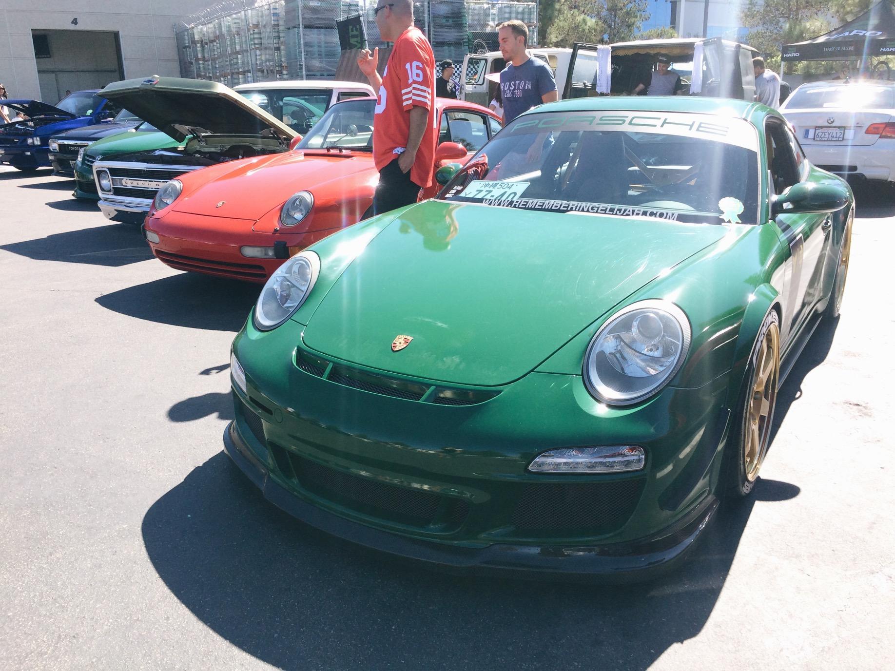 Jay Shell's Porsche.