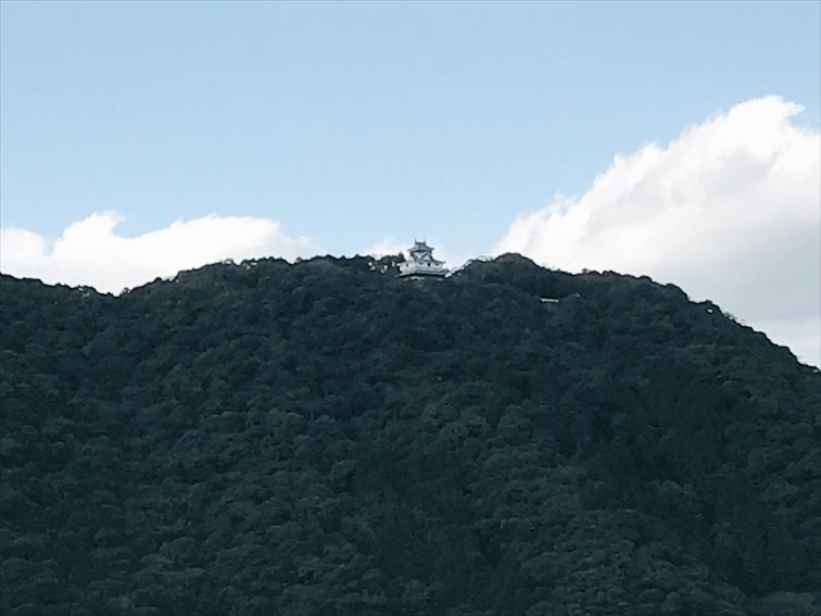 The castle at Kintai Park, unfortunately it was closed. We actually had to pay to cross the antique bridge though.