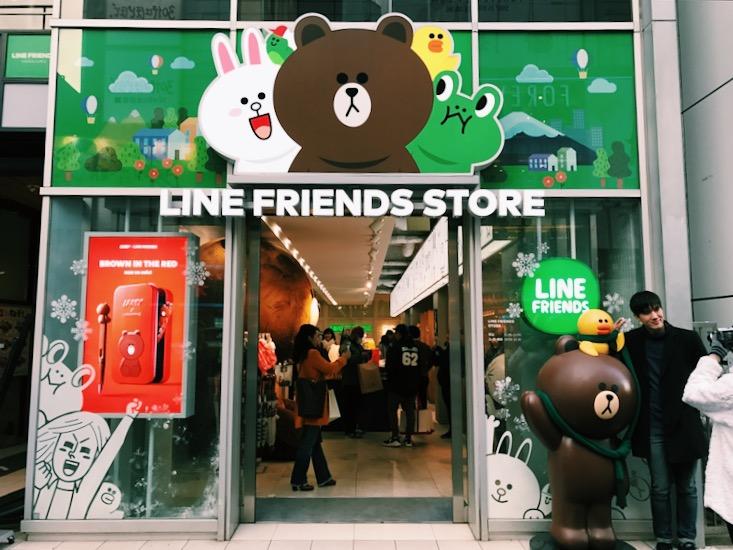This pop up store got a lot of cute stuff.