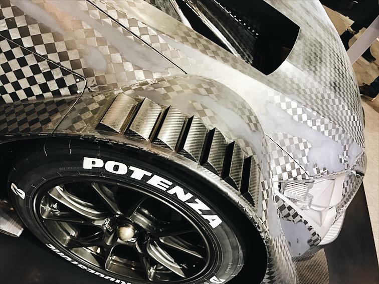 All that carbon fiber.
