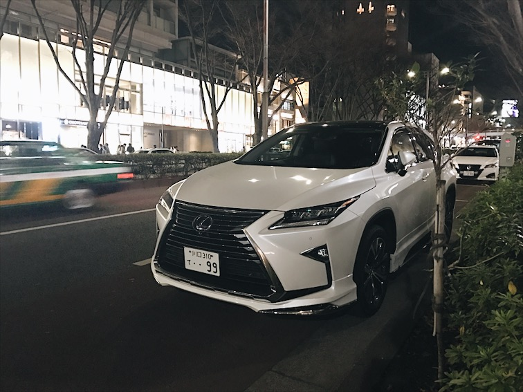 We reunited with Gina, her friend wanted to join us but she had to leave. Spotted this car on our way to the train station to the Tokyo Sky Tree.