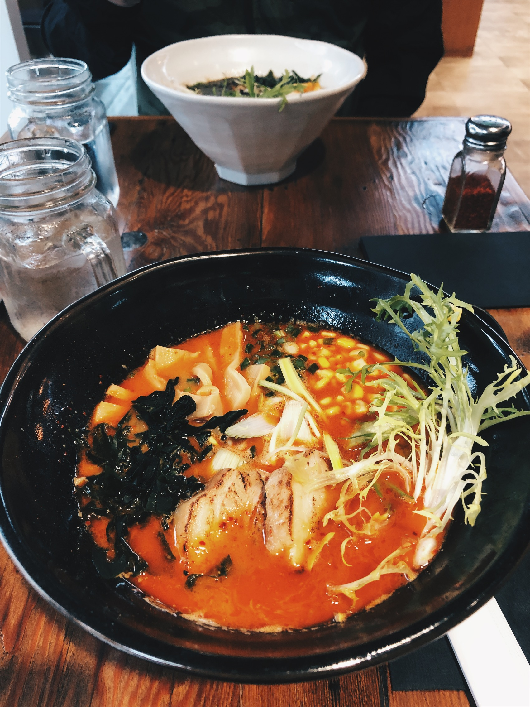 I ordered the Spicy Miso.