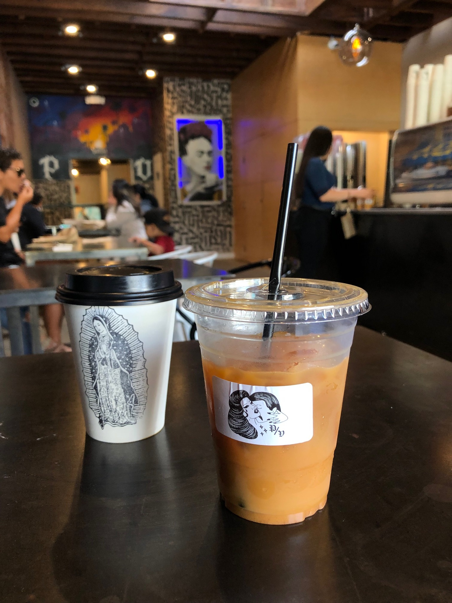 Coffee from Por Vida.