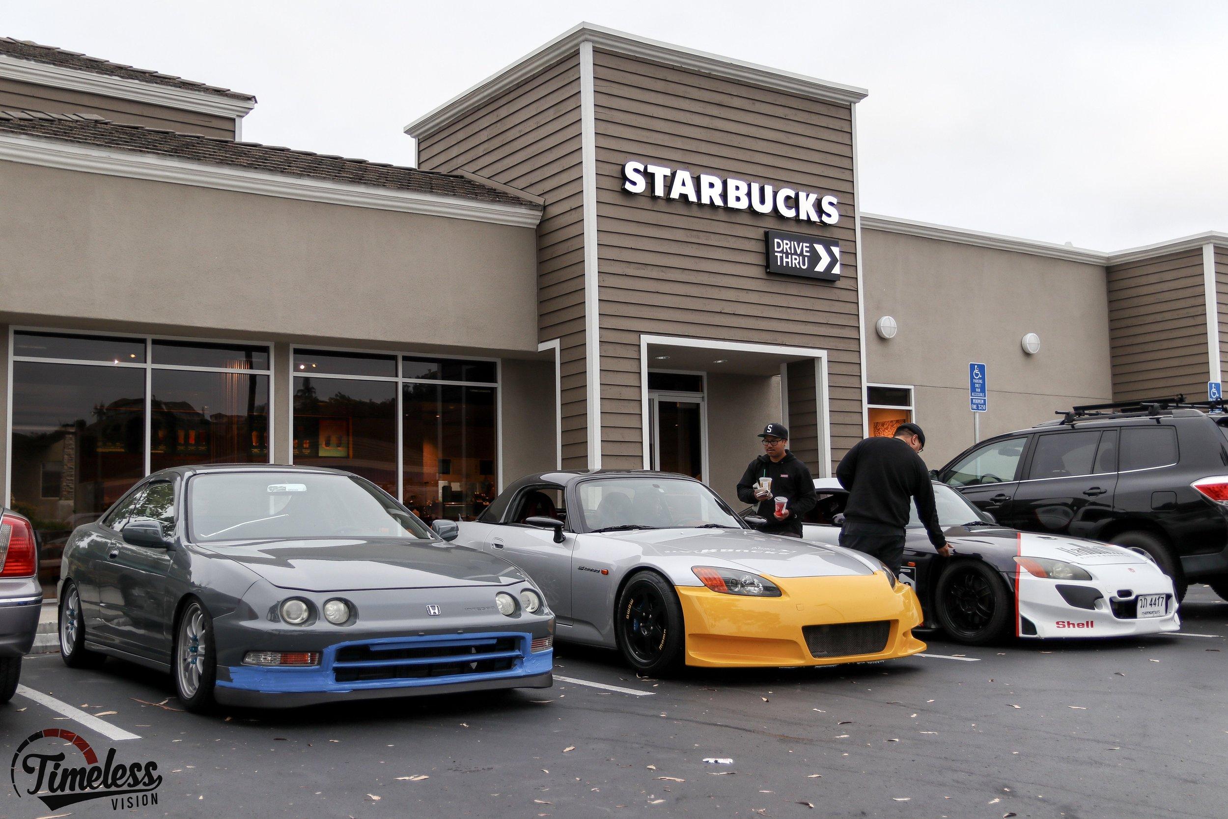 We met up at Starbucks on Scripps Poway.