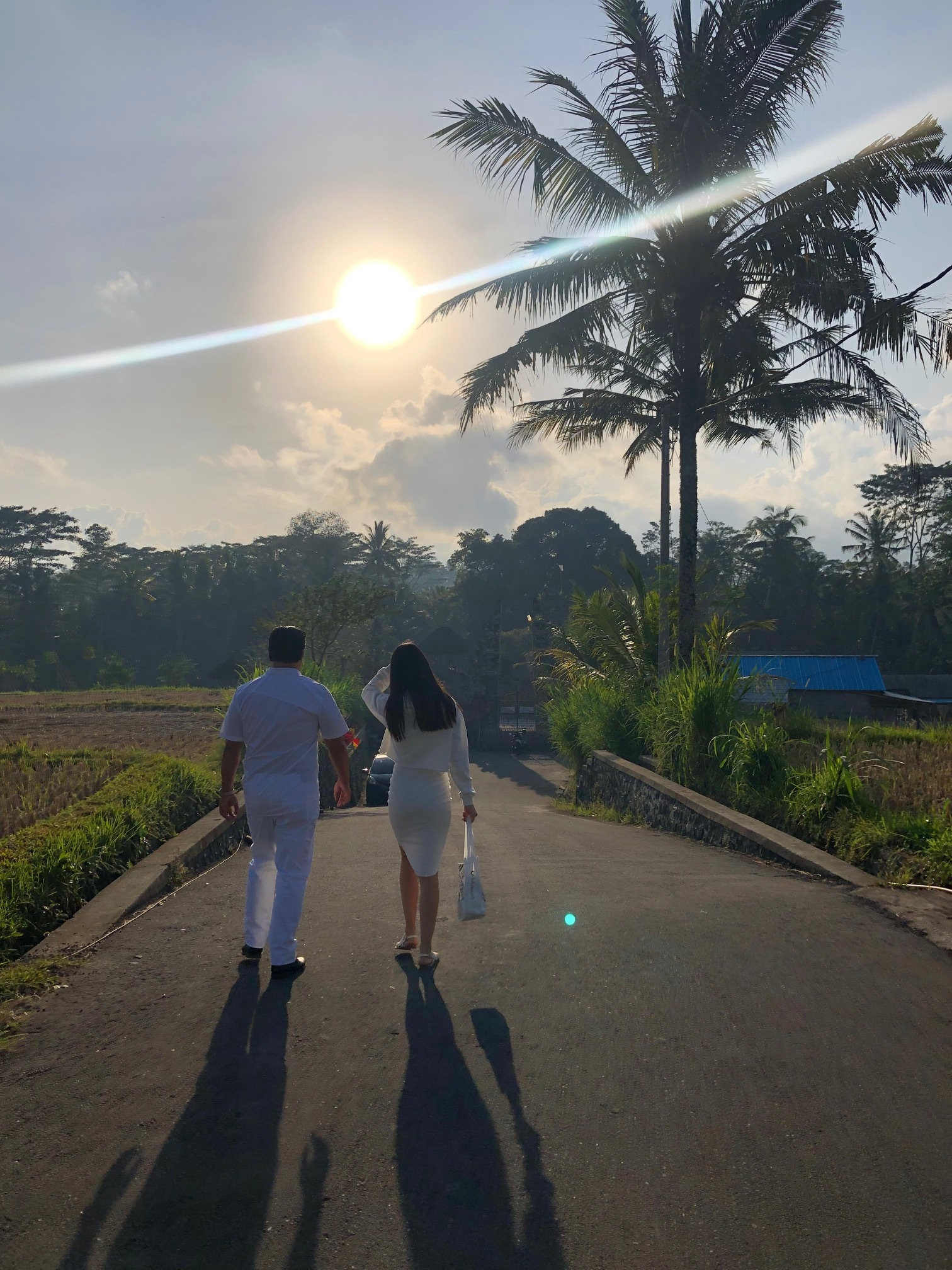 Sun rise, got me confused, It kinda feel like the sun is rising on the west in Bali.