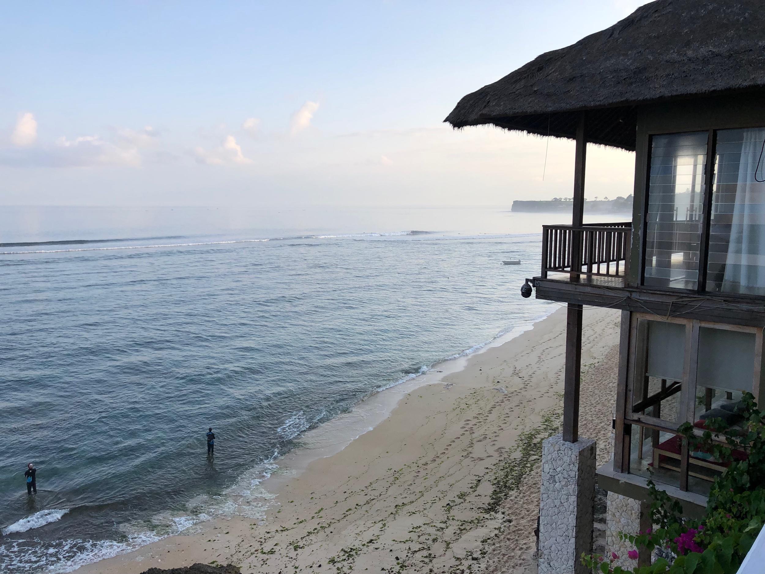 First morning in Uluwatu, Bali.
