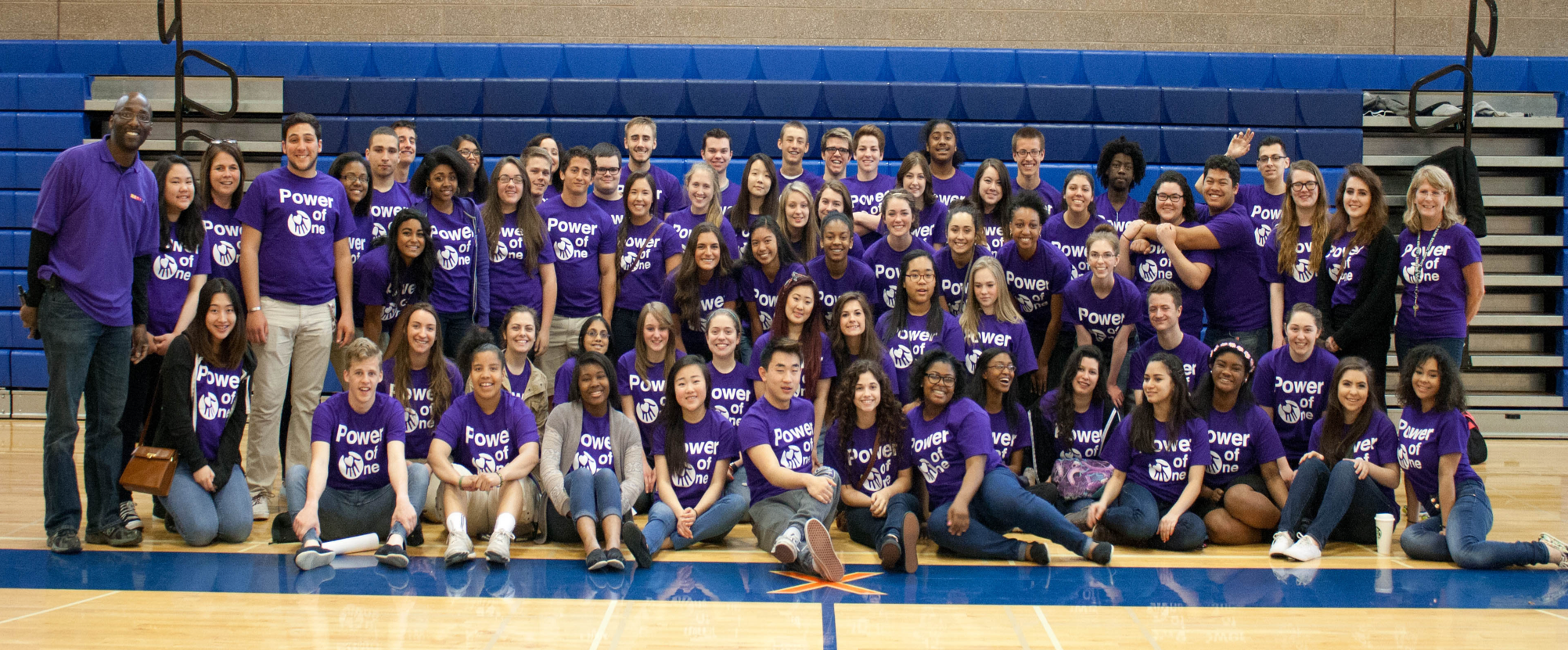 LHS Power of One Ambassadors take a group photo after leading an amazing Po1 for their freshman, 9th grade advisors, and their administration. Bravo team! #IgniteNation