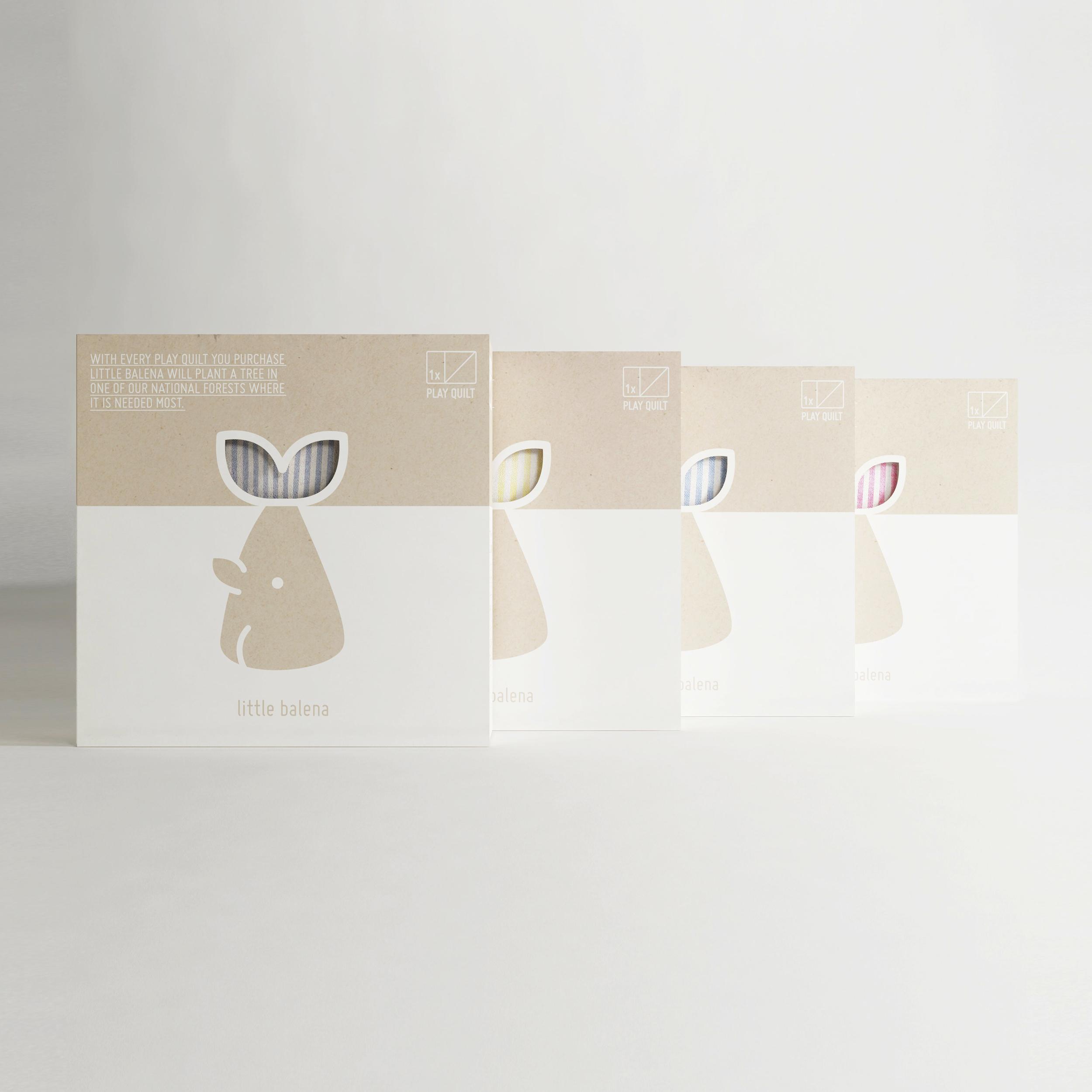 Little Balena  Packaging—Illustration