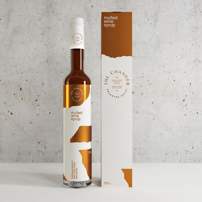 The Changer  Branding—Packaging—Web