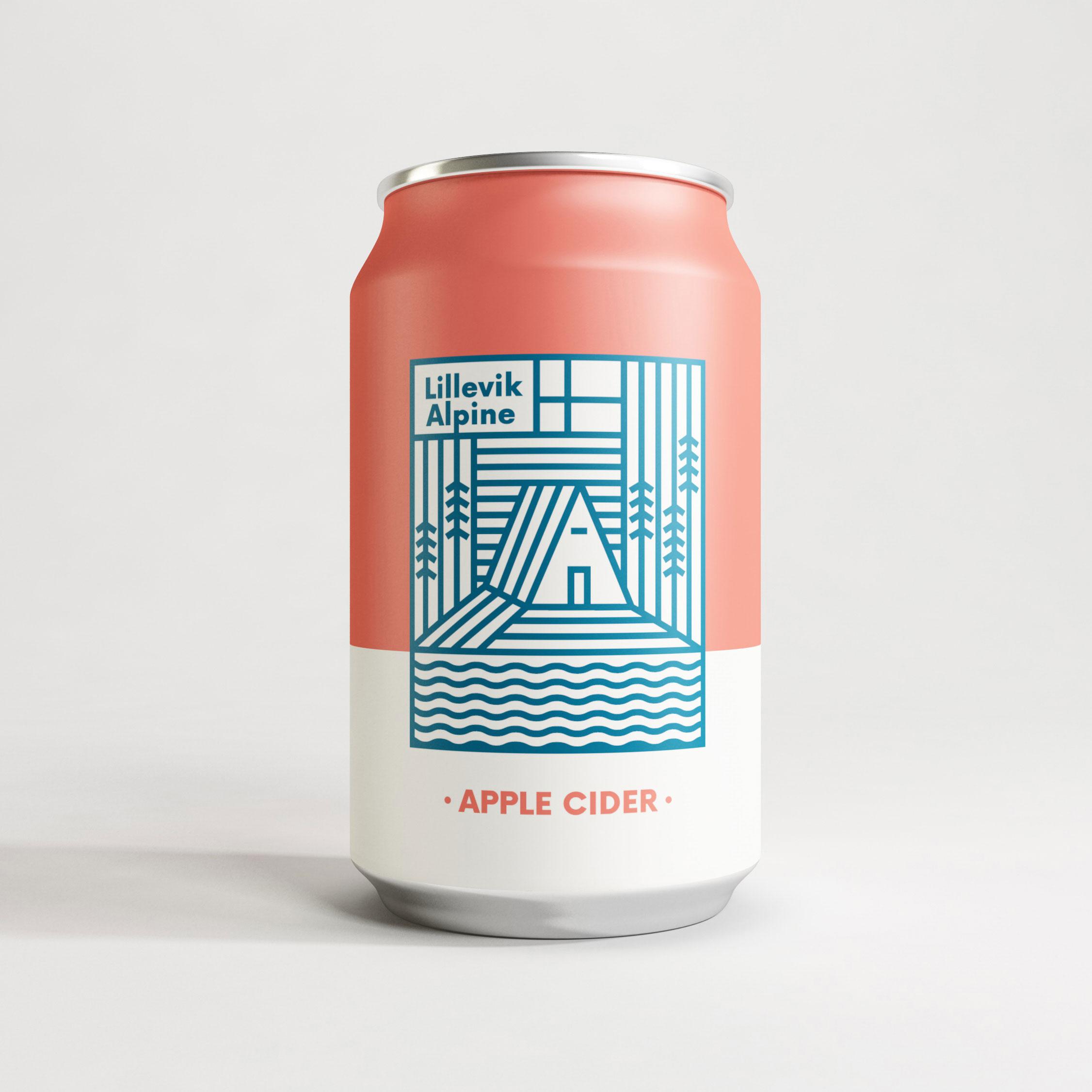 Lillevik Alpine  Branding—Packaging—Illustration