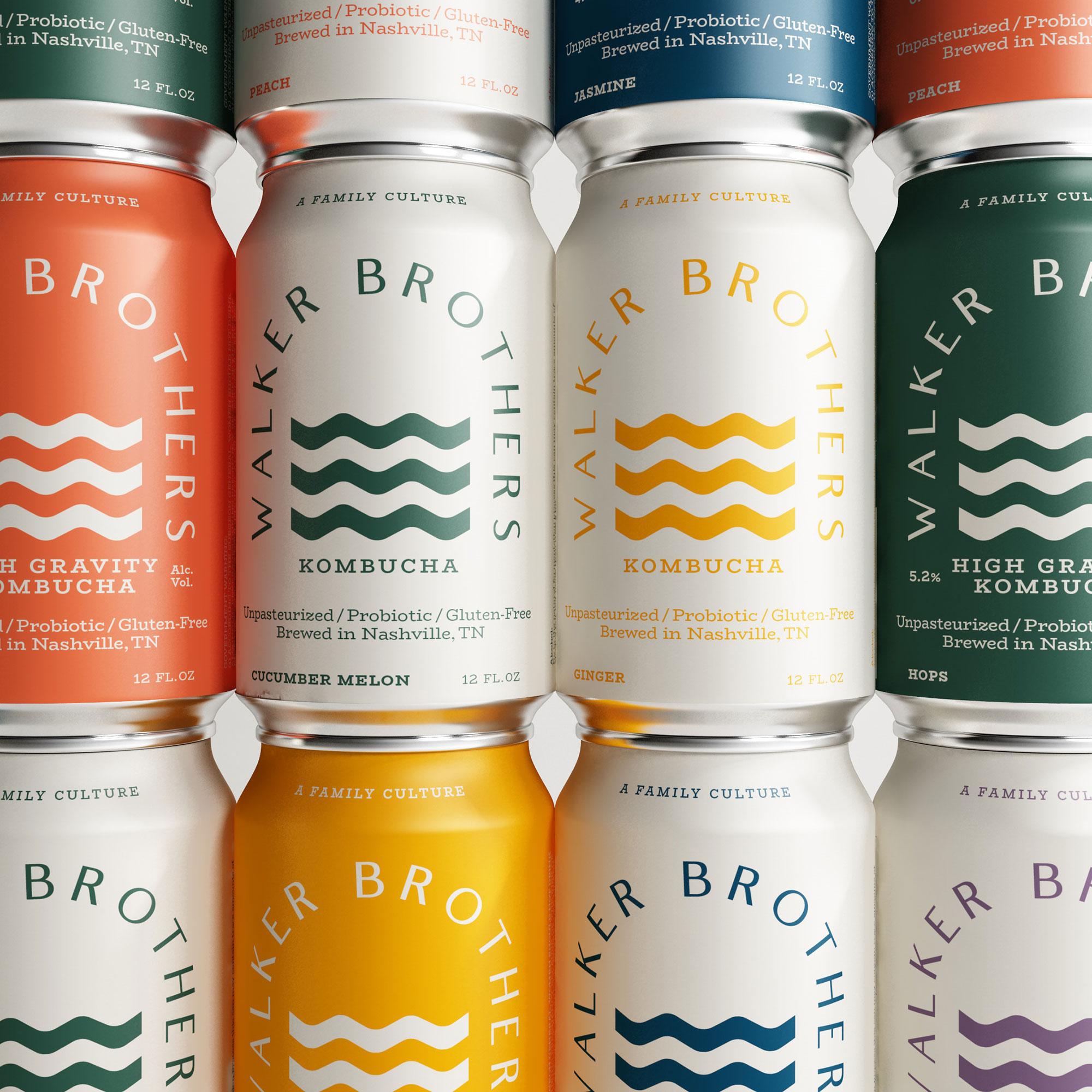 Walker Brothers    Branding—Packaging