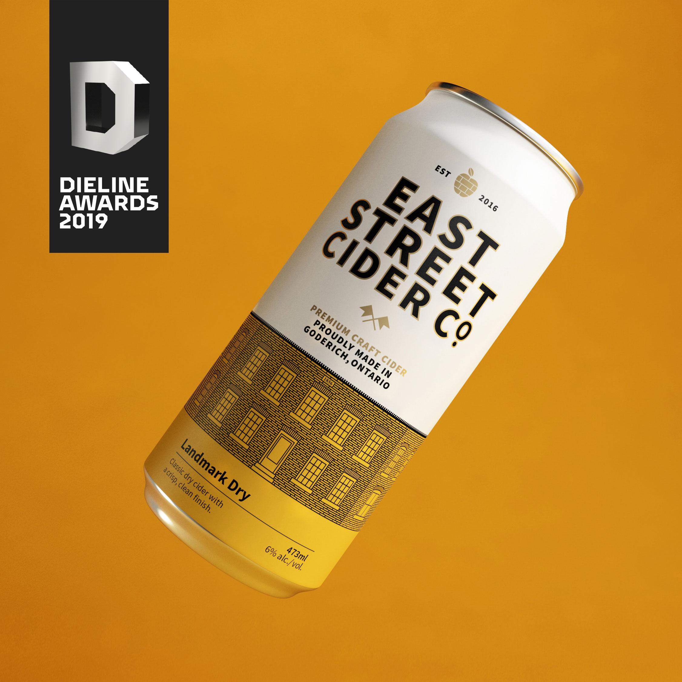 East Street Cider Co.  Branding—Packaging