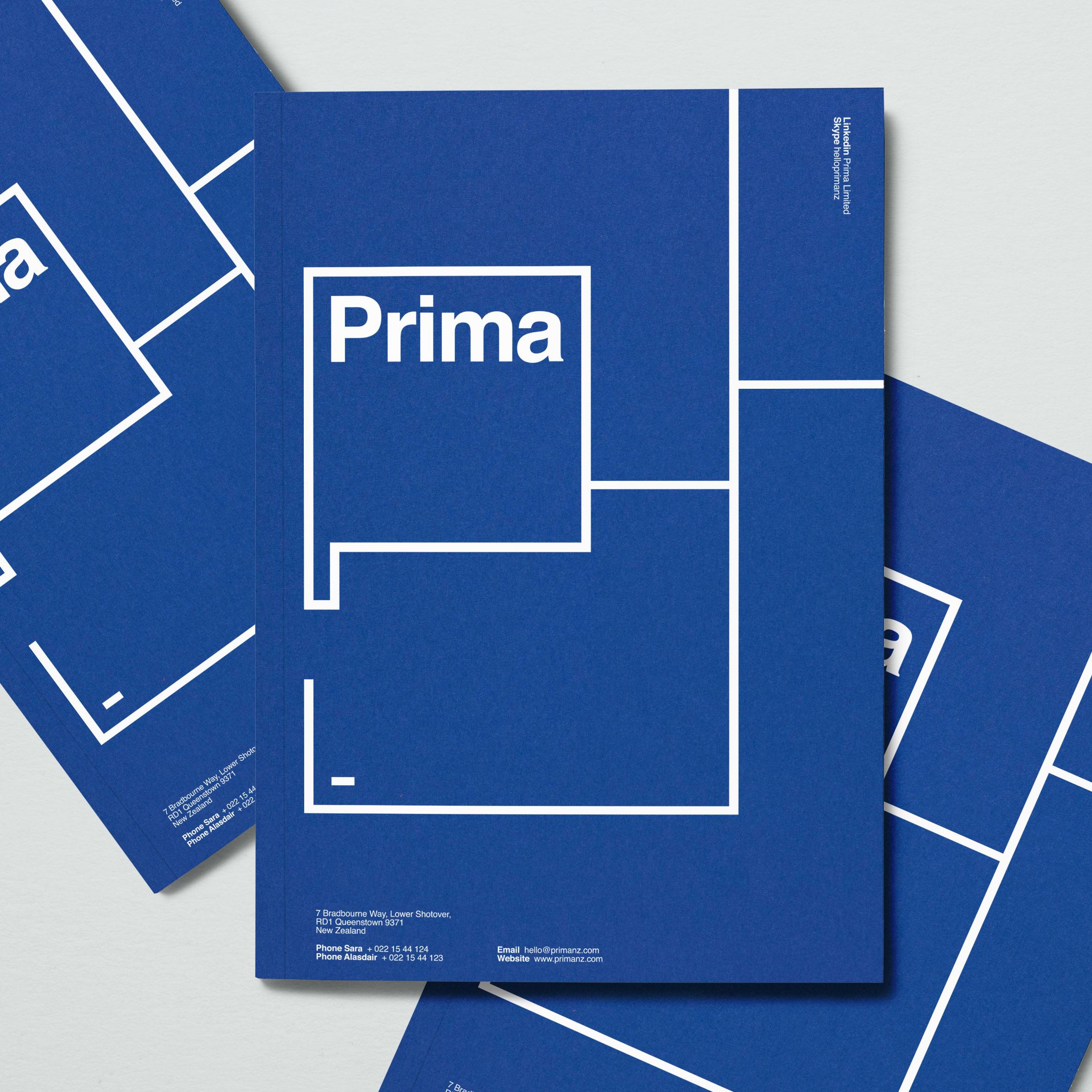 Prima  Branding—Web