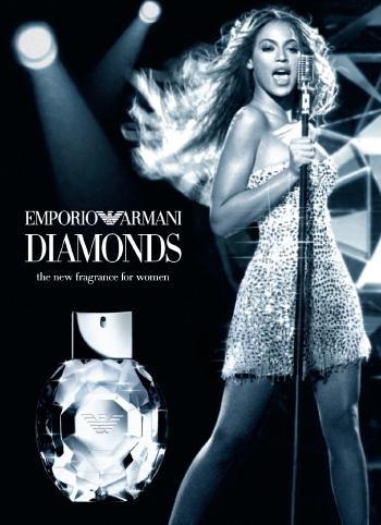 Emporio Armani Diamonds Beyonce
