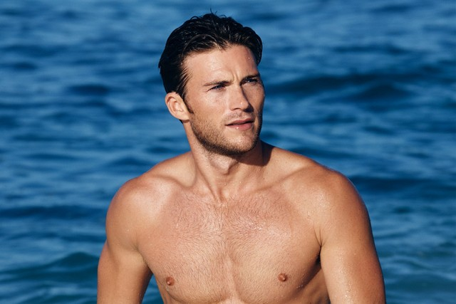 Scott Eastwood, the new face of Davidoff Cool Water