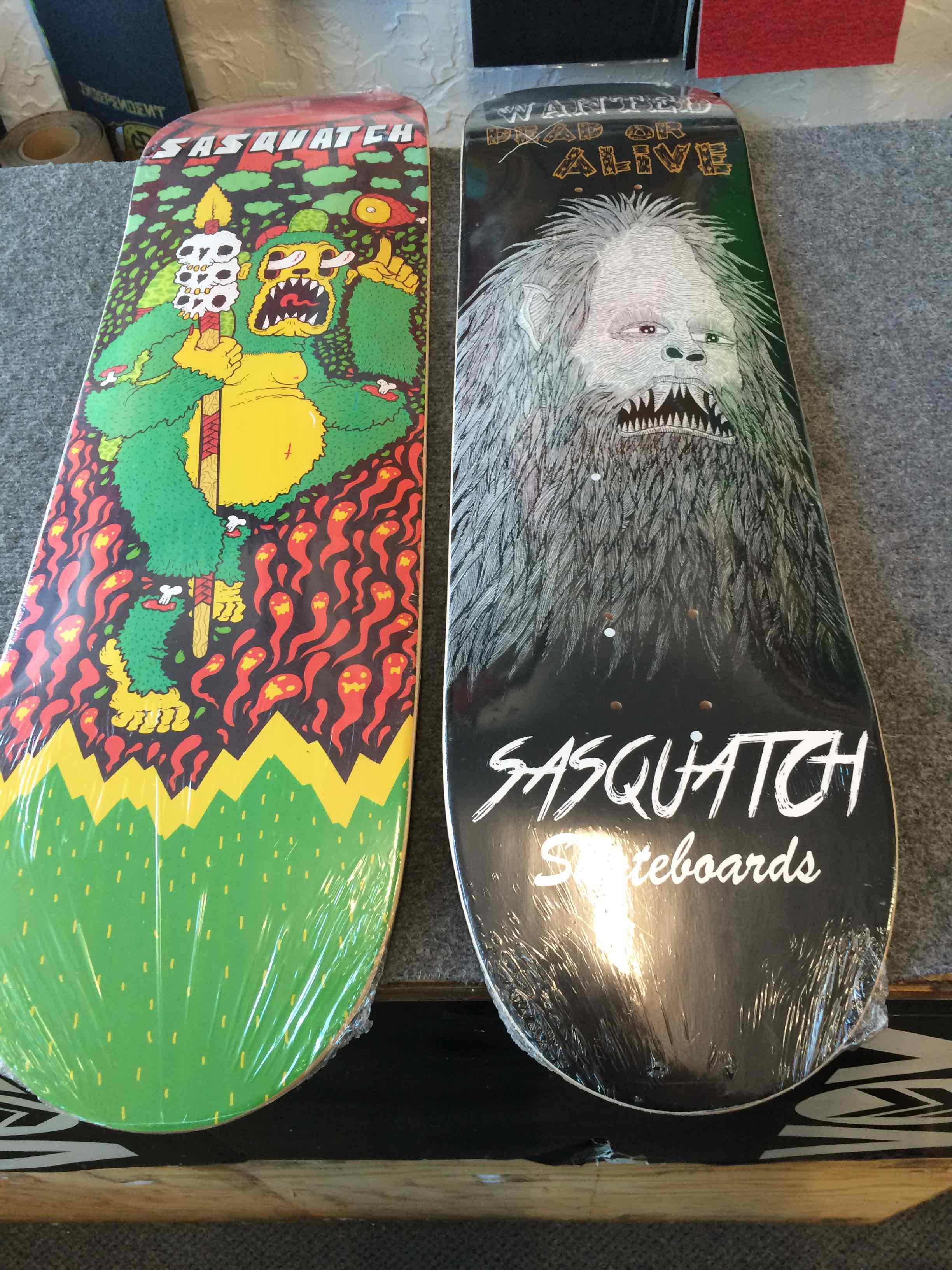 Sasquatch Skateboards spring summer 2015