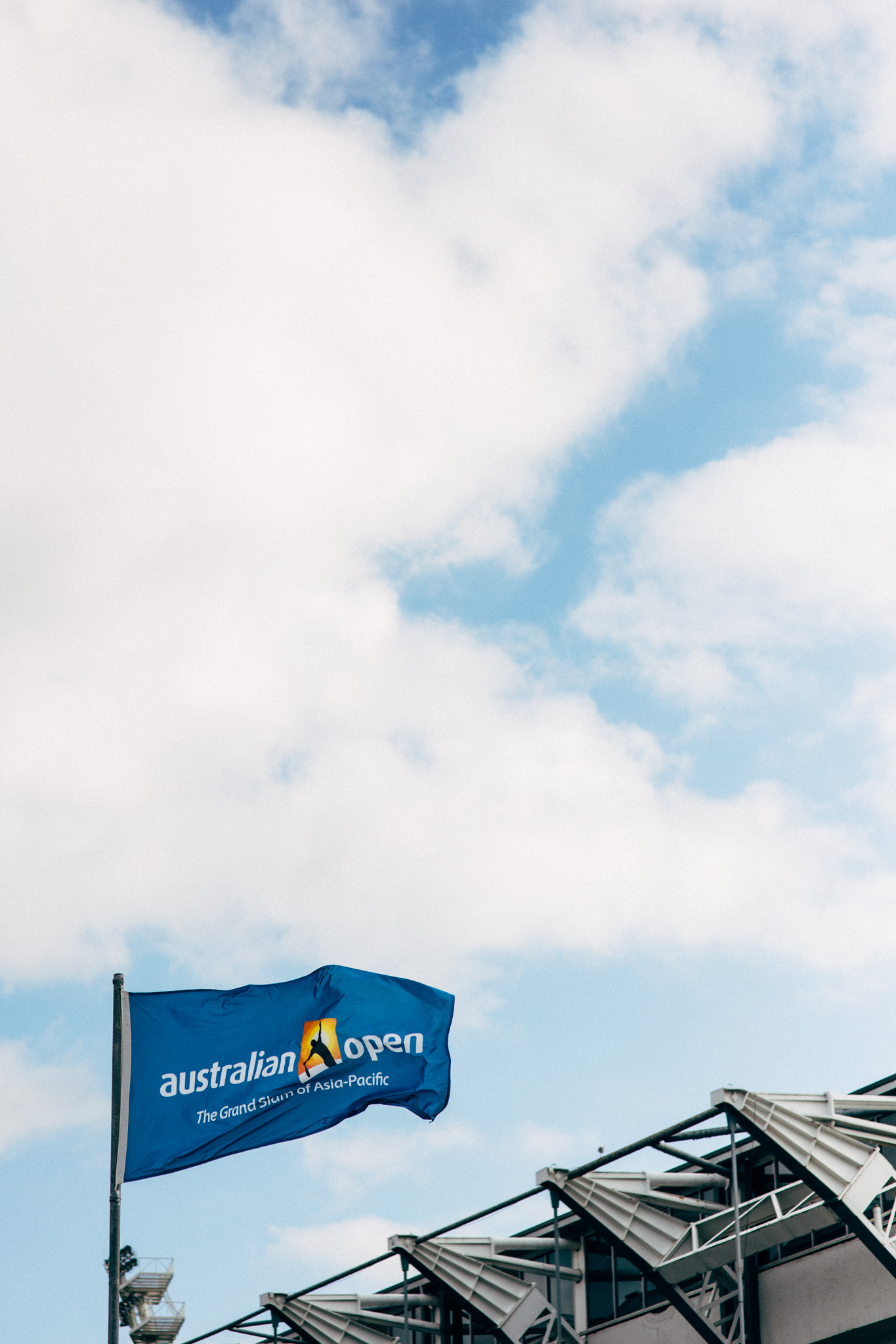 Mister Mixer at Australian Open
