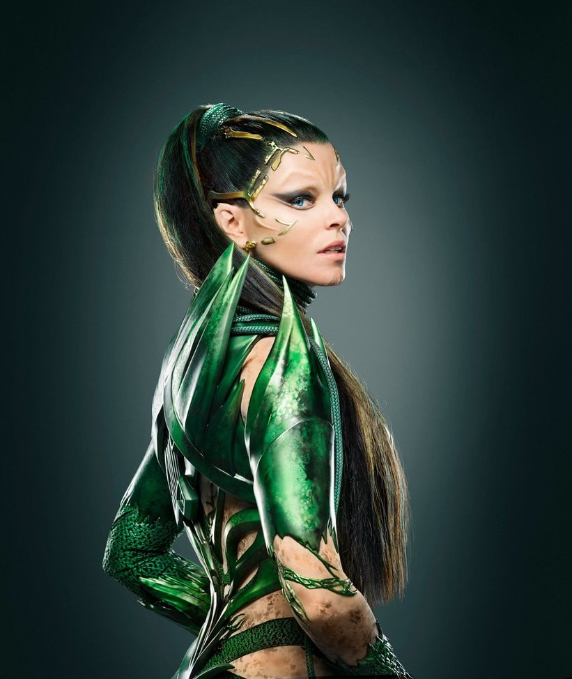 Produced at Legacy Effects  Worked within the team responsible for Rita Repulsa's Green Suit. Specifically the vine details used for prosthetic make-up.
