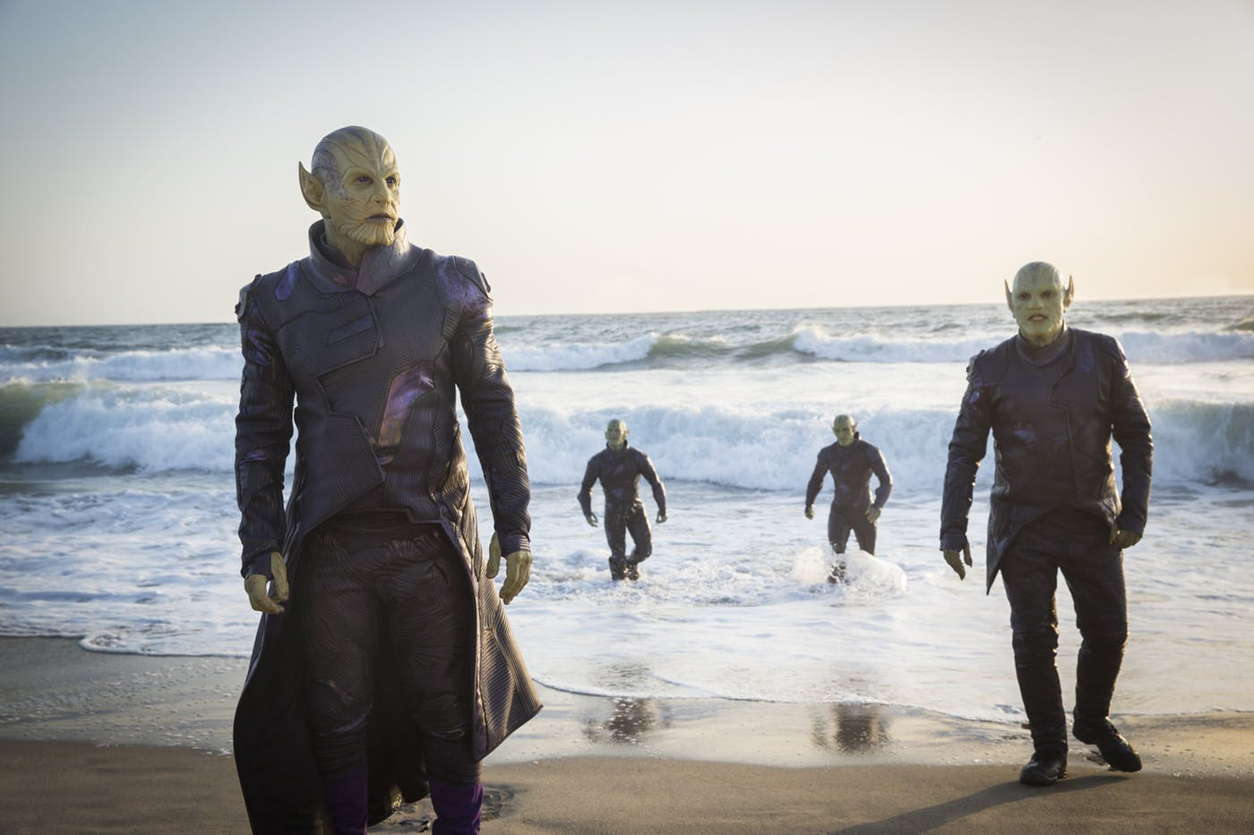 Modeled various costume pieces for the Skrulls which was then 3D printed and fabricated.