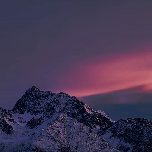 #Watzespitze @ #sunset #kaunertal #tirol #tiroleroberland #visittirol #neverstopexploring #hiking #mountaineering . Best light ever
