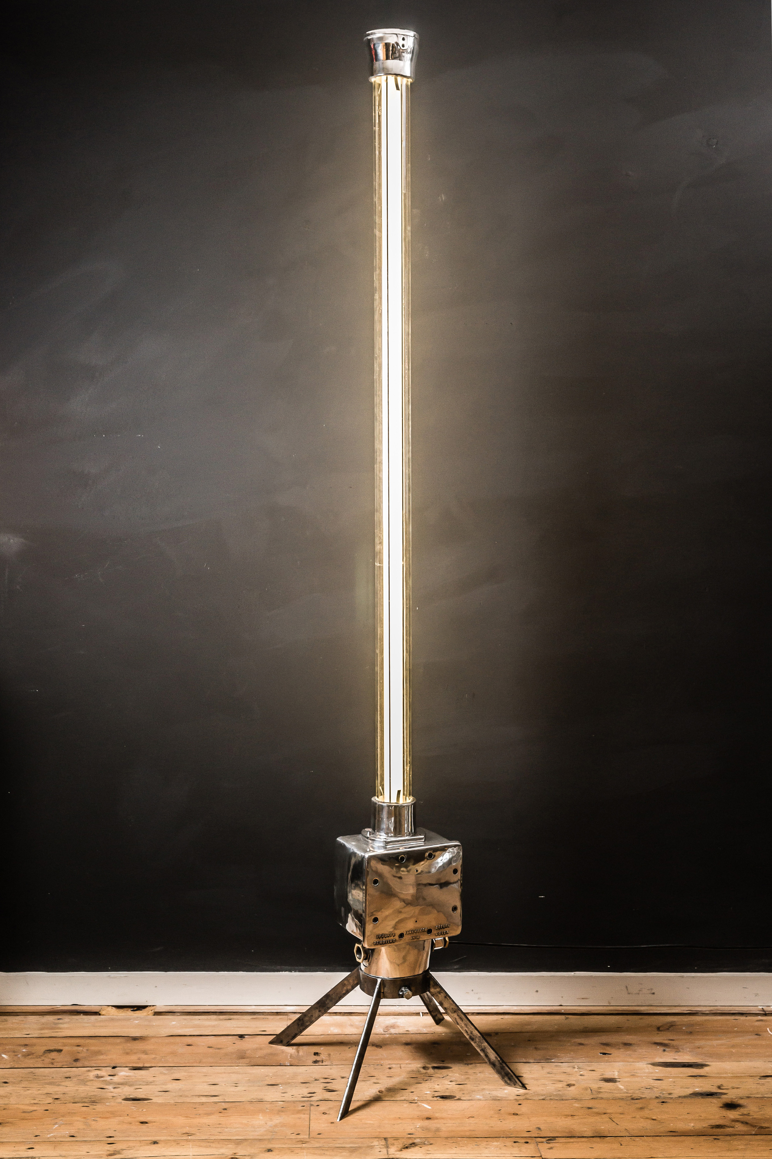 Armouries Converted Floor Standing Light